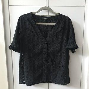 Madewell Village Eyelet shirt, Small